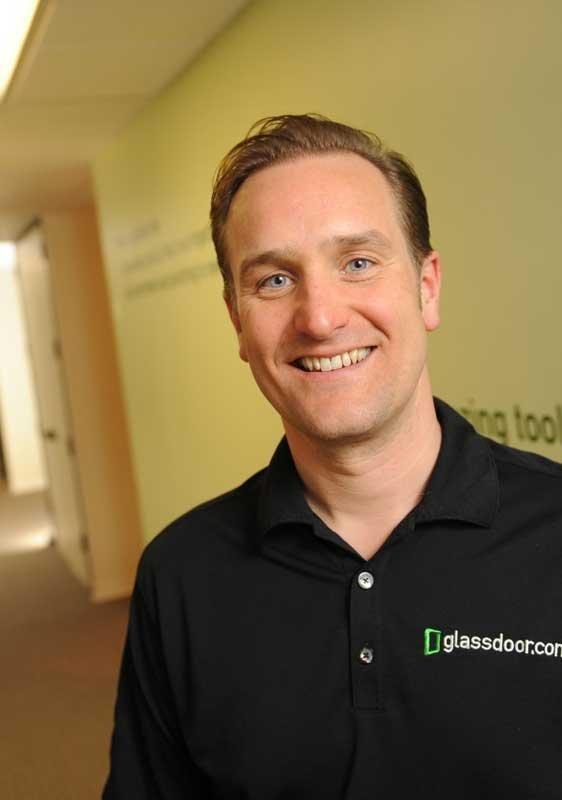 Glassdoor CEO Robert Hohman.