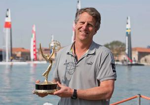 Stan Honey won an Emmy for technology used to televise America's Cup racing leading up to big events in S.F.