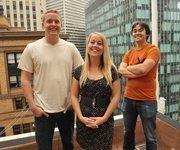 Educational: InstaEDU founders Dan Johnston, Alison Johnston and Joey Shurtleff.