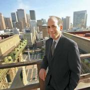 Jon Kimball, general manager of the Westin St. Francis, where Chateau Montelena has opened a tasting room.