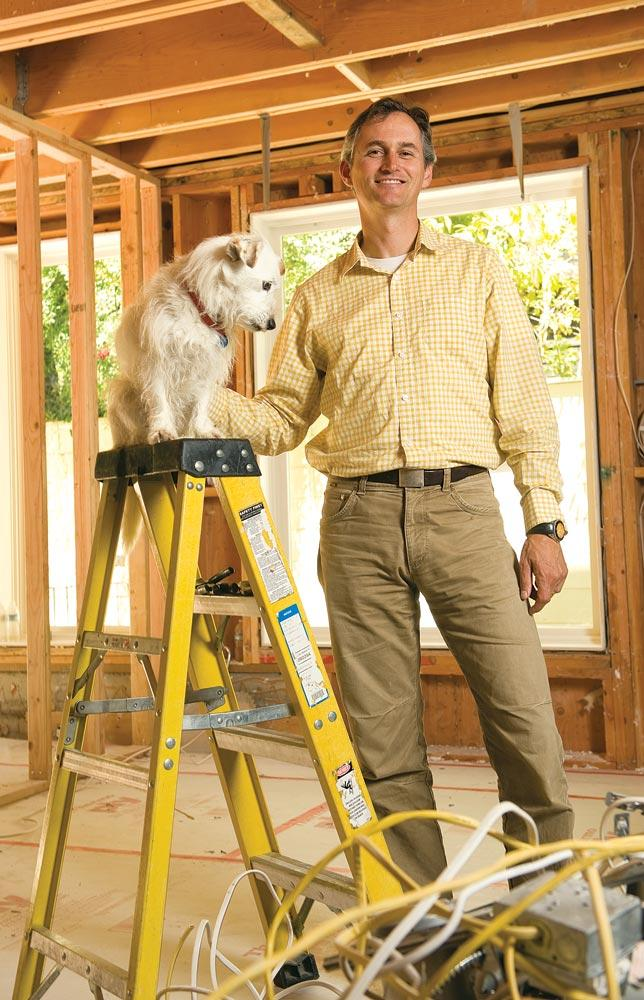 """""""That was a fast-track M.B.A,"""" says King of joining a remodeling industry group to get help for his business."""