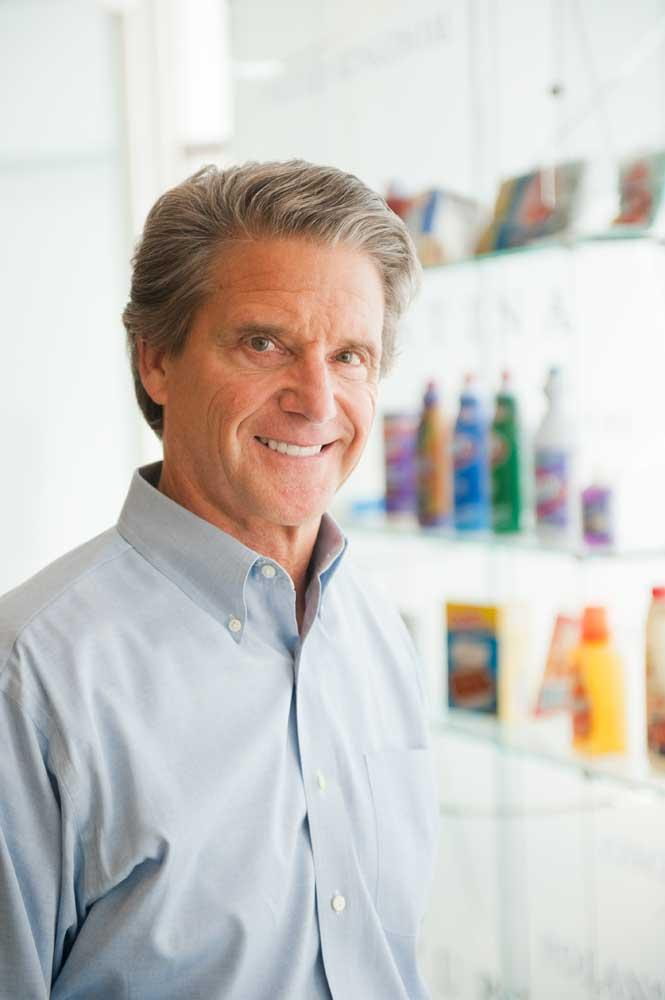 "Clorox Chairman and CEO Don Knauss says, ""There are no tired brands, only tired marketers."""