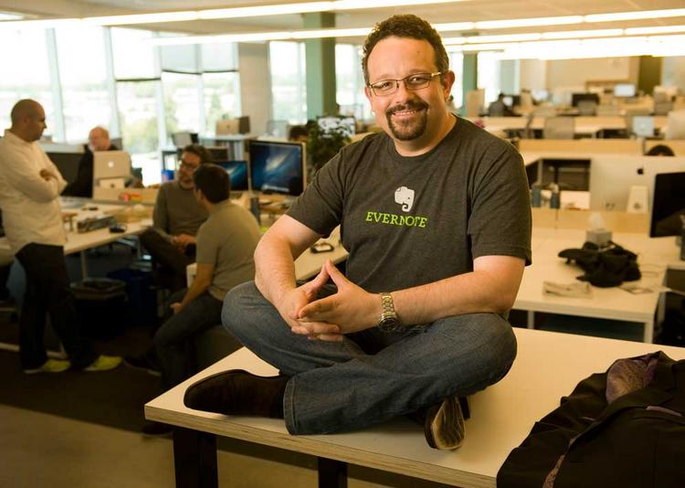Evernote CEO Libin says his firm will hire 300 at its Redwood City HQ.