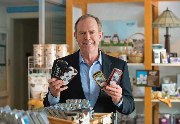 Mike Litton, CEO of Bridge Brands Chocolate, has spent more than a decade carving out a successful niche in the billion-dollar chocolate market with a product that's more about the box than what's in it.