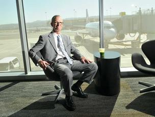 Airport Director John Martin says low-cost carriers have helped push SFO passenger traffic to record levels.