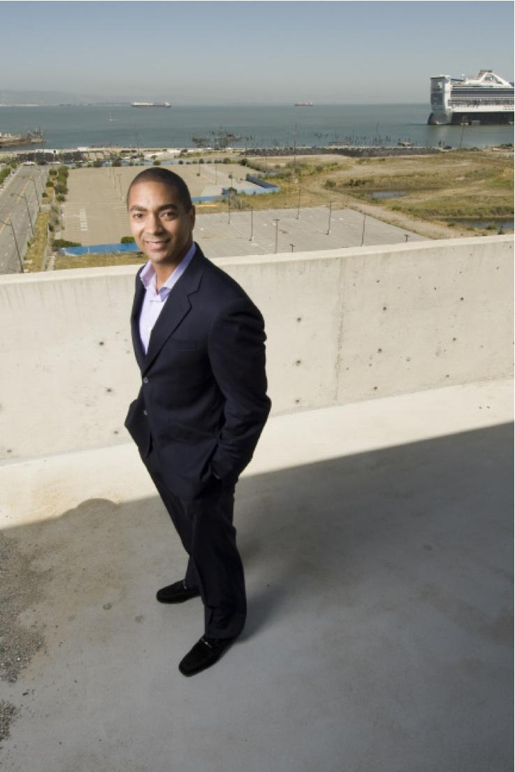 Gladstone's Michael Penn Jr. looks overseas to fill the void after Salesforce backed out of its big move to Mission Bay.
