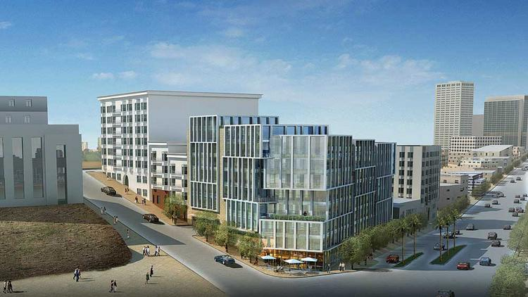 Fill 'er up: Arquitectonica is designing the 115-unit project that will fill a former gas station site.