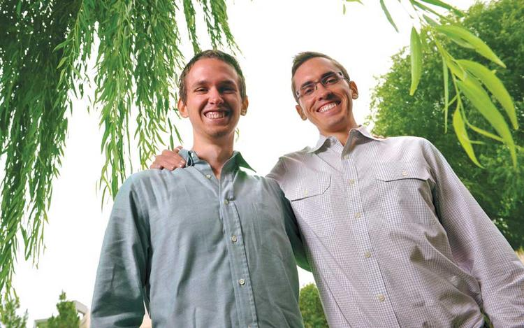 Brian (left) and Matthew Monahan co-founded Inflection LLC.