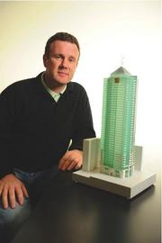 David O'Keeffe is pursuing approvals for his condo project despite the downturn.