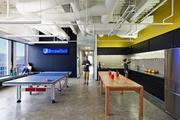 Kitchen space at DreamHost's L.A. office is partly about food, partly about recreation.