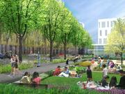 Current SOM projects under way or in planning in San Francisco include Park Merced.