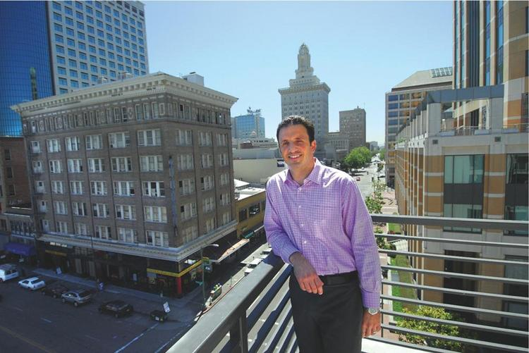 Brian Pianca of Wood Partners says apartment leasing is ahead of schedule.