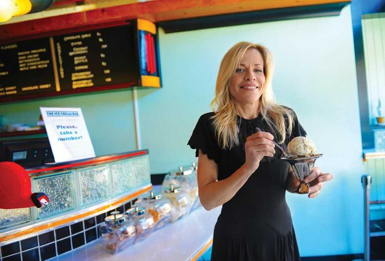 """Ice Cream Bar's Juliet Pries: """"We're kind of becoming a high-end ice cream town."""""""