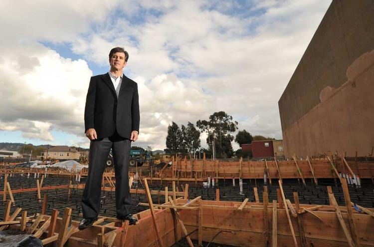 John Protopappas is the sole developer building apartments in Oakland right now.
