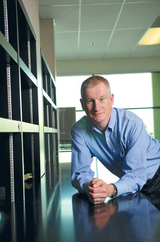 Wareham's Chris Barlow worked with QB3 to create a 9,300-square-foot incubator for startups.