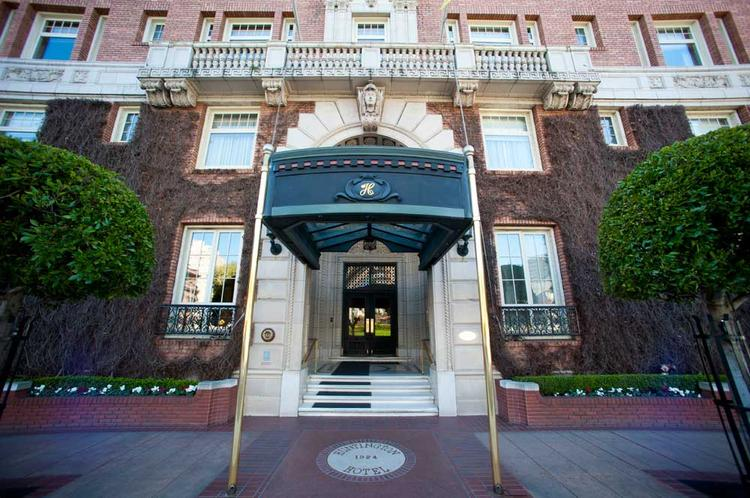 The Huntington Hotel was part of the complex deal pulled off by the Cope family.