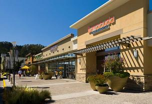 The Serramonte Center in Daly City was part of the local retail space included in the portfolio.