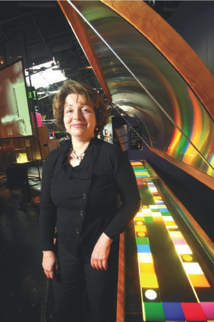 """""""There is a lot of interest in the waterfront right now because of the America's Cup,"""" said Silva Raker, business development director for the Exploratorium."""