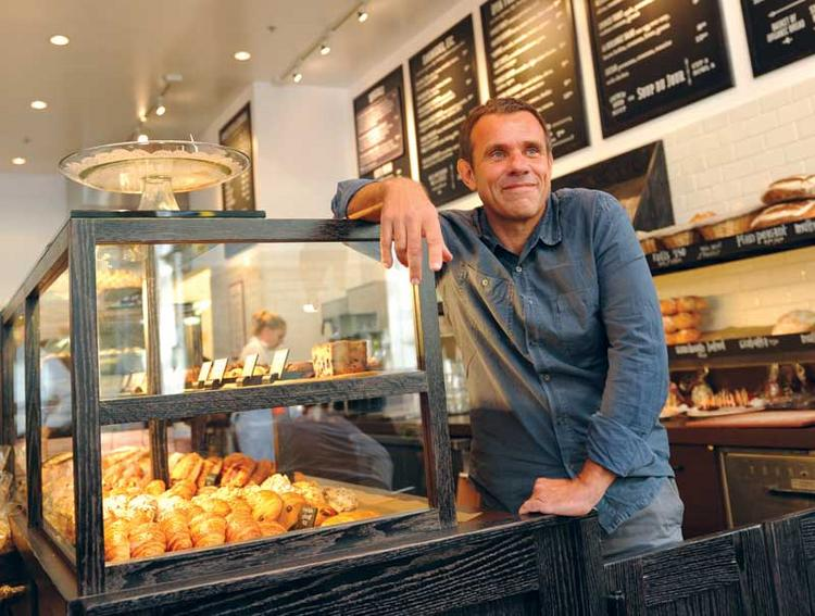 La Boulange founder Pascal Rigo is teaming up with Starbucks.