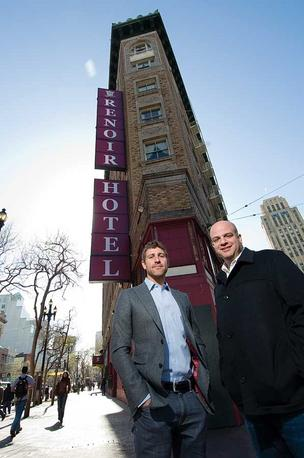 Brian De Lowe and Alex Samek of Kor Group felt reassured by the city's commitment to Mid-Market.