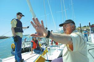 Anthony Sandberg, founder and president of OCSC Sailing in Berkeley, sees a whirlwind of interest from companies that want to explore boat-based team-building activities.