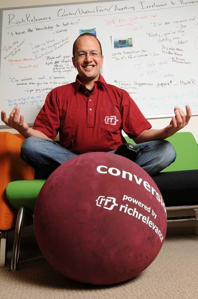 RichRelevance CEO David Selinger.