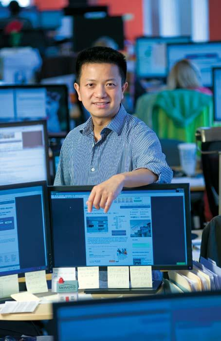 """Movoto CEO Shao wanted a site """"with all of the specialization that a local business has."""""""