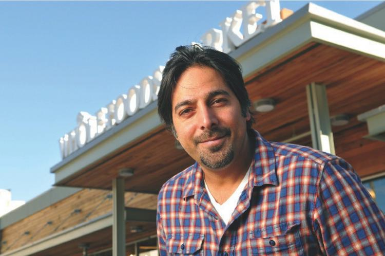 Harvindar Singh, at the new Haight Street store, has brought roughly 300 local companies to Whole Foods since 2007.