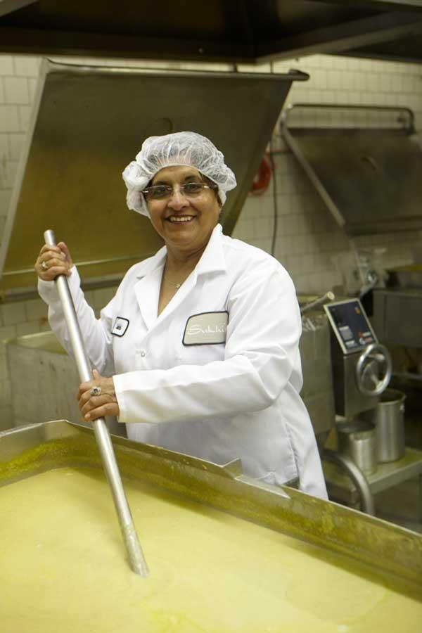 Sukhi Singh began by making curry pastes just for herself and her family.