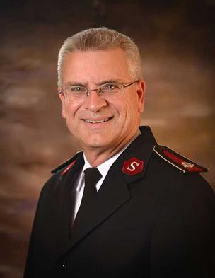 Lt. Col. Stephen Smith, divisional commander of The Salvation Army.