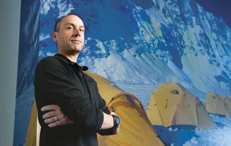 """Uphill climb for retailers: """"Consumers need to be given a reason to purchase something,"""" says Todd Spaletto, president of North Face."""