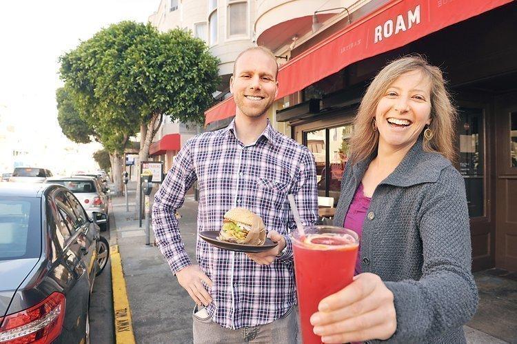 Josh Spiegelman and Lynn Gorfinkle launched Roam in Union Street business boom.