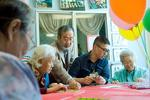 Two elder care providers present model for others