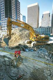 The 1939 Transbay Terminal has gone under the wrecking ball.