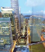 San Francisco's Transbay Terminal project has begun a process that is likely to transform the nieghborhood to a gleaming high-rise business and residential zone.
