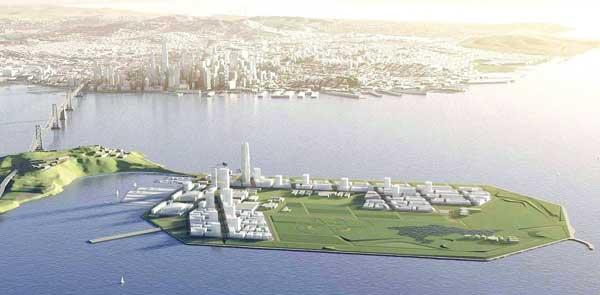 The future Treasure Island