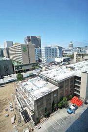 Targeting techies: New projects along Market Street, like Trinity Place.