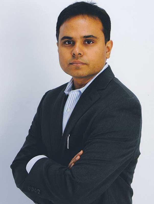 Srikanth Velamakanni, founder and CEO of Fractal Analytics.