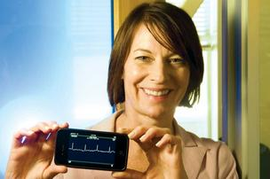 AliveCor President and CEO Judy Wade.