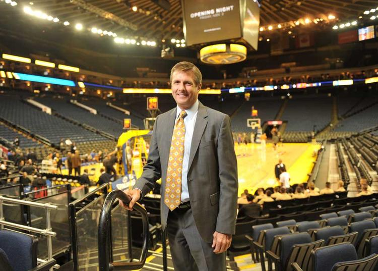 Rick Welts gets a jump shot on basketball marketing, selling ads on digital screens.