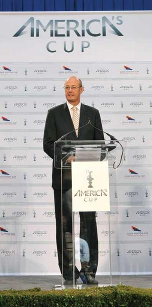 America's Cup Event Authority CEO and chairman Richard Worth