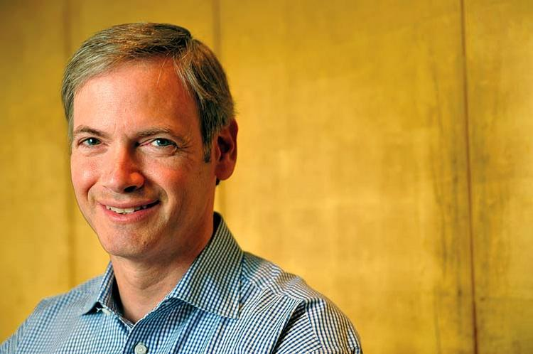TSG CEO Chuck Esserman keeps an eye on grocery aisles for possible investment targets.