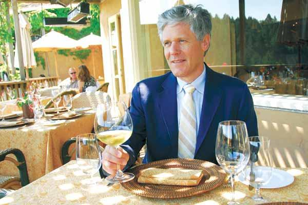 """""""We've seen … a terrific amount of drive-to business,"""" says Auberge Resorts CEO Mark Harmon of his three properties in the Wine Country."""