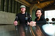 Approachable: Owner Patrick MacCartee and partner Cheryln Chin tout Tank 28's un-Napa-like qualities.