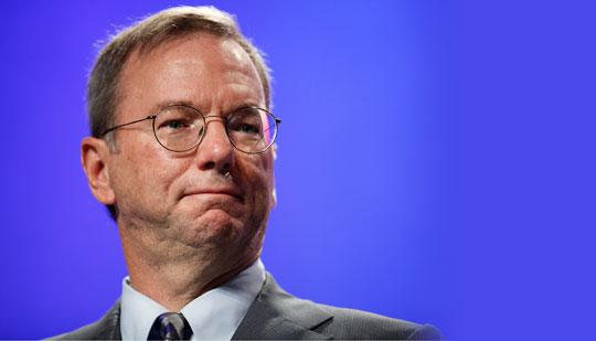 What Eric Schmidt's robot will look like when it goes to parties in the future, only perhaps more handsome.