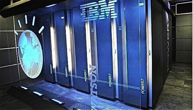 IBM Corp.'s Watson computer.
