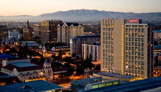 San Jose was ranked the No. 2 happiest city in the country for young professionals.