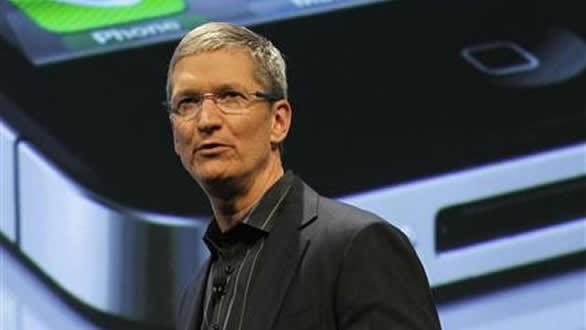 Apple CEO Tim Cook said he will spend $100 million next year to bring some manufacturing back to the U.S. from China.