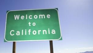 Welcome to California sign Small Business & Entrepreneurship Council rankings