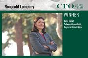 Satu Johal, CFO of Pathways Home Health Hospice & Private Duty, was the Nonprofit CFO of the Year award winner.